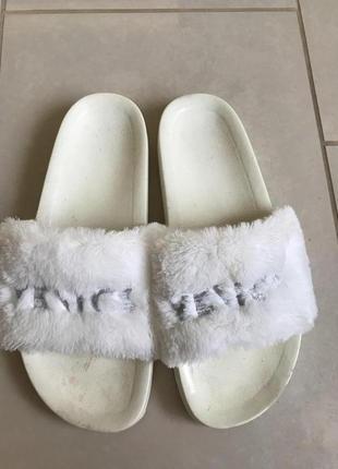 Шлёпанцы стильные модные venice размер 39-40