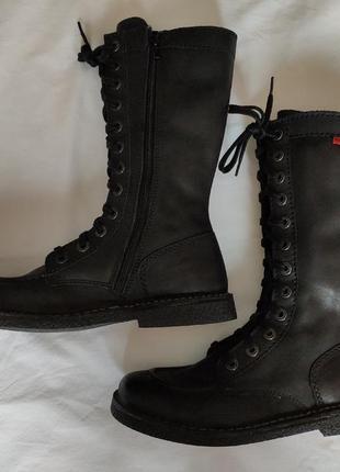 Ботинки kickers берцы. стелька 25.5cm