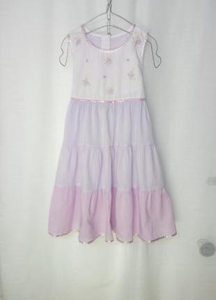 Батистовое воздушное платье 🕊️индия