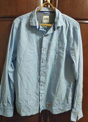 Рубашка superdry(размер l)