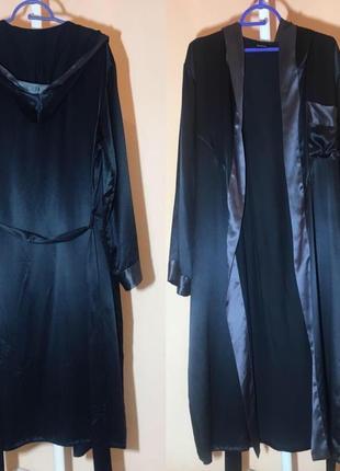 Длинный халат унисекс 100% шелк от globus