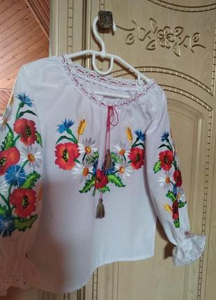 Вышиванка блузка