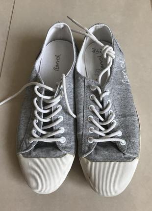 Мокасины кеды стильный модный дорогой бренд bench размер 38