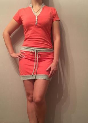 Спортивное повседневное платье