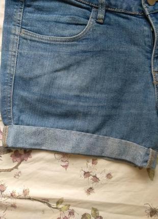 Ддинсовые шорты h&m4 фото