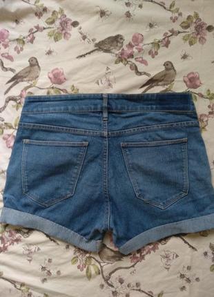 Ддинсовые шорты h&m5 фото