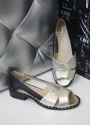 Невероятно удобные туфли ,макасины открытые ,39 размер, реальное фото!!!
