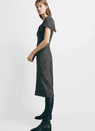 Дизайнерское платье твид