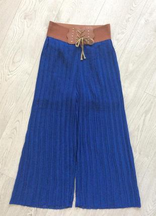 Плиссированная юбка брюки р.s-m