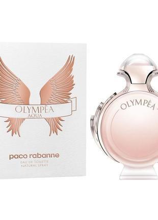 Olympea aqua paco rabanne туалетная вода духи оригинал элитная парфюмерия