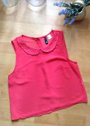 Блуза коралового кольору від h&m