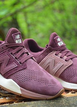 Оригинал new balance! женские кроссовки 247 модель, ws247stb, нью беленс