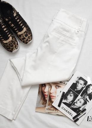 Белые штаны под любой образ kappahl