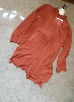 Платье рубашка-л