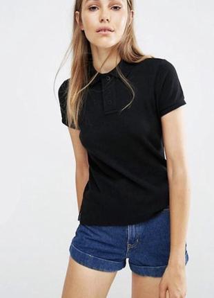 Поло тениска черная 100% коттон испания размеры