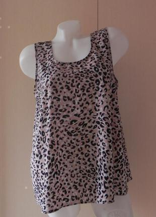 Блуза майка леопардовый принт atmosphere
