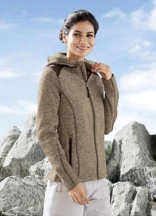 Женская трикотажно-флисовая куртка crivit®( германия)