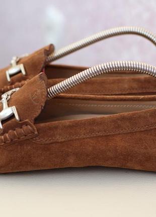 Кожаные туфли, мокасины mega 62 40-41