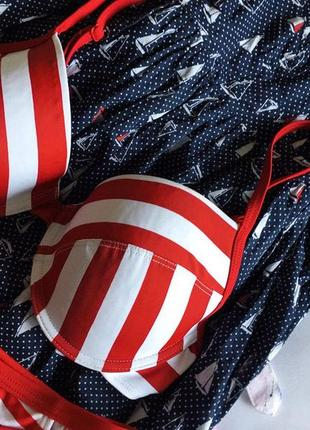 Стильний купальник в смужку esmara 75c/34c6 фото