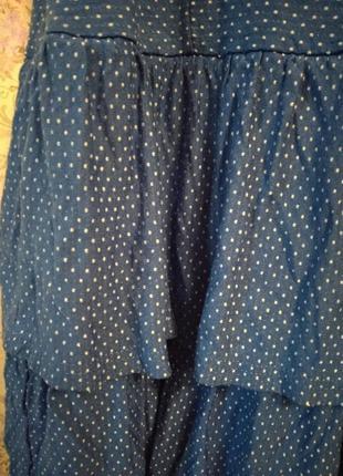 Милое платье в горох4 фото