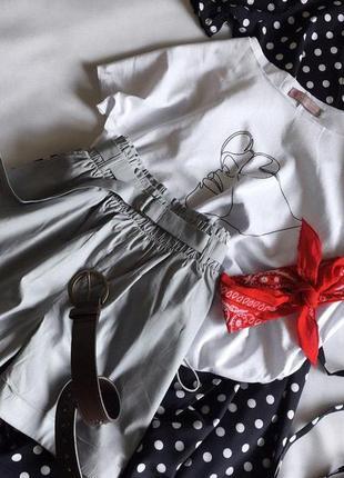 Стильний набір шортики+футболка s/m