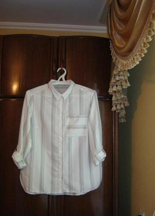 Рубашка f&f, вискоза, размер 18/46