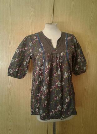 Хлопковая тоненькая блузка, s.