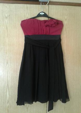 Шифоновое платье бюстье,s.3 фото
