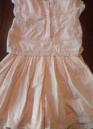 Комбинезон ( юбка-шорты) next 7 л( 122 см).