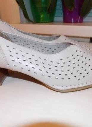 Ортопедические кожаные туфли medicus