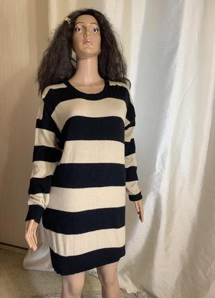 Шерстяное платье шерсть +кашемир/ шерстяная туника  madeleine оригинал