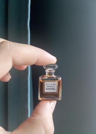 Миниатюра chanel allure sensuelle, parfum/чистые духи, 1,5 мл