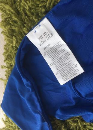 Новый синий вязаный купальник анжелика, трусики бразилиана, пуш ап4 фото
