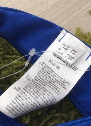 Новый синий вязаный купальник анжелика, трусики бразилиана, пуш ап5 фото