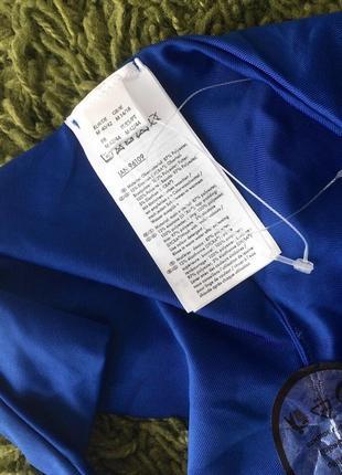 Новый синий вязаный купальник анжелика, трусики бразилиана, пуш ап6 фото