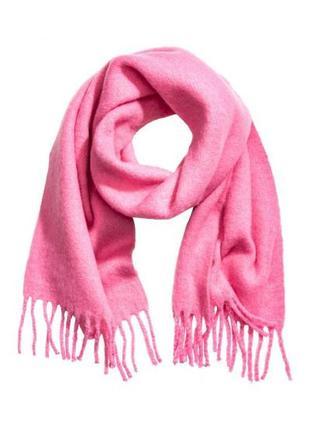 Оригинальный большой шарф от бренда h&m разм. one size