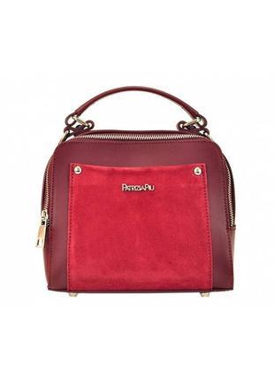 Женская кожаная сумка patrizia piu 418-051