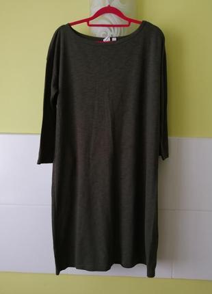 Летнее платье хаки от gap