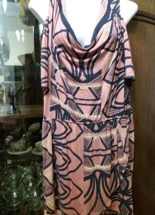 Платье -next-с открытыми плечами- 18р            распродажа