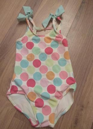 Купальник для девочки 3 годика