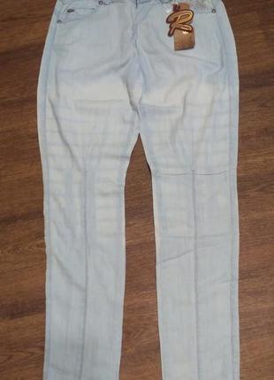 Летние лёгкие джинсы-галифе от r. marks jeans
