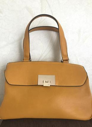 Супер летняя желто-оранжевая сумочка