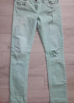 Крутые рваные джинсы !