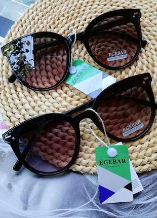 Скидки! мега цена! все очки по 120 грн новые очки чёрные солнцезащитные с биркой