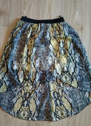 Асимметричная юбка италия