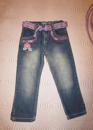 Нові джинсові капрі турецької фірми cichlid р. 110 на 5 років