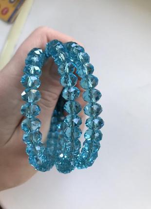 Новый голубой браслет