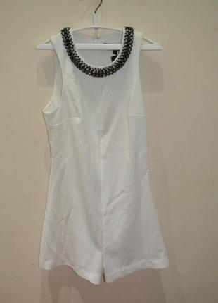 Комбинезон с шортами нарядный размер s