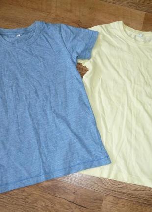 Marks&spencer две футболки на 4-5 лет