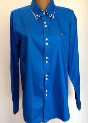 Мужская итальянская рубашка. /l/ brend sir balin. состояние новой.